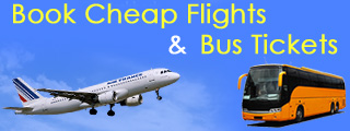 Cheap Flight and Bus Booking