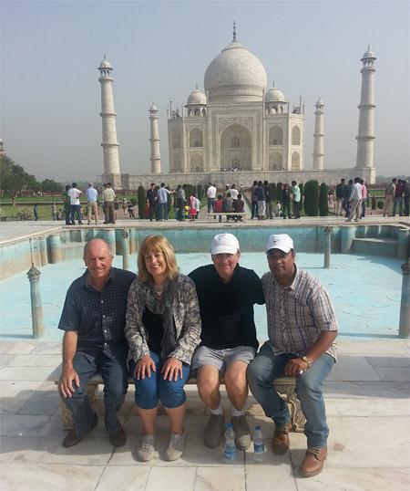Deepak with David n McMillans