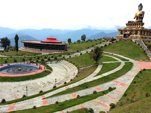 British Group during Sikkim Tour