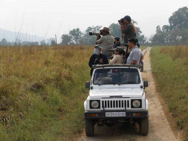 Jeep Safari at Corbett