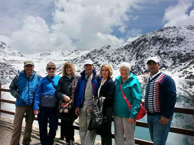 British Group-Changu Lake Sikkim