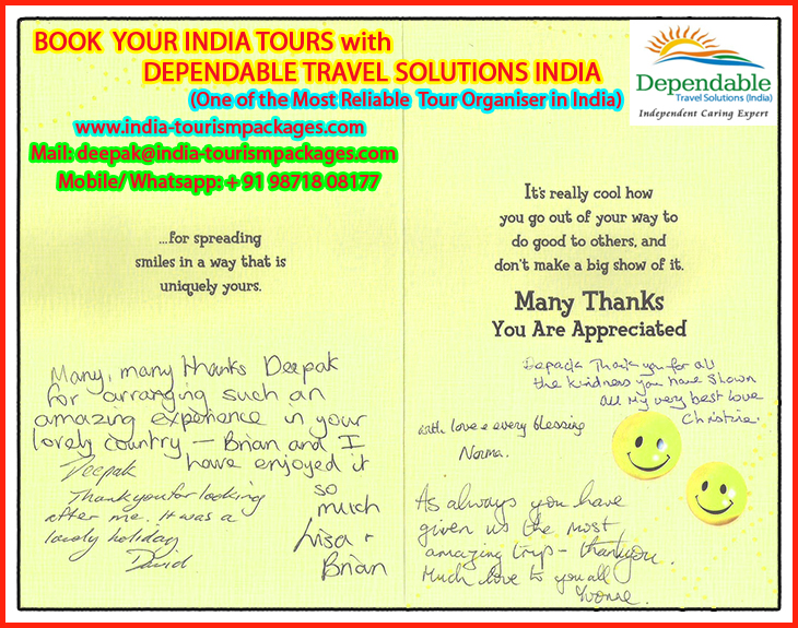INDIA TRIP FEEDBACK