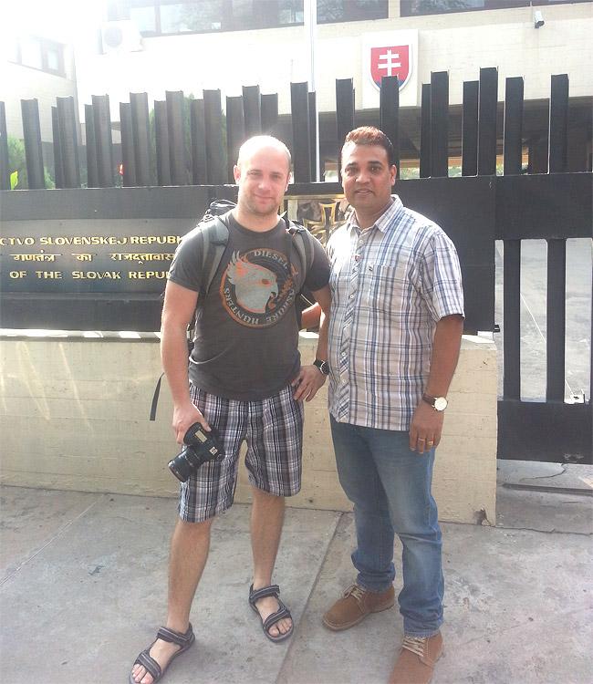 Deepak with Mark (Slovakia)