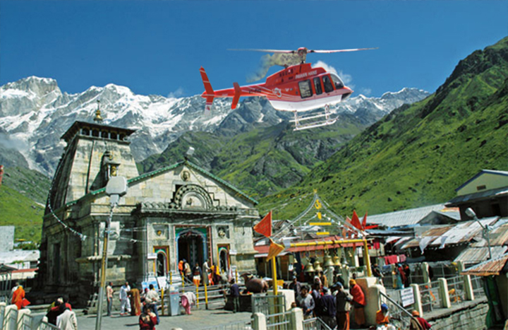 Do Dham Yatra by Helicopter (Same Day)